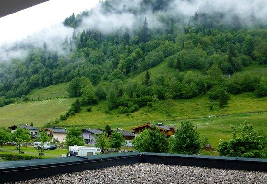 Hotel Wasserfall: Widok z okna
