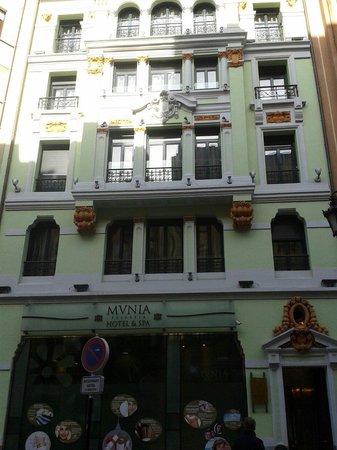 Princesa Munia Hotel & Spa: Fachada hotel