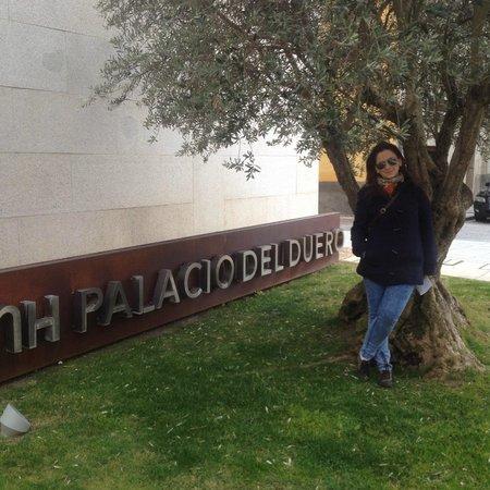 NH Zamora Palacio del Duero: Entrada