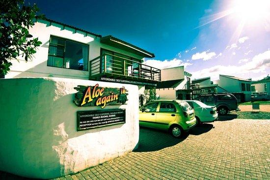 Aloe Again Beach Accommodation: Aloe Again Entrance