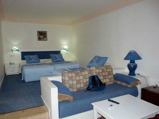 Hotel Le Riad: Habitación cuádruple