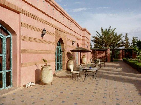 Hotel Le Riad: Pavellones de habitaciones