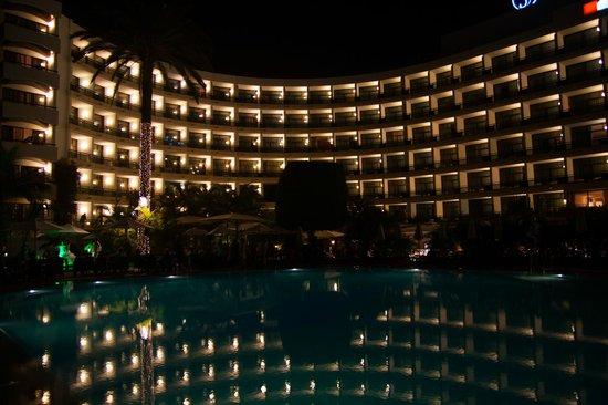Seaside Palm Beach: Hotel view