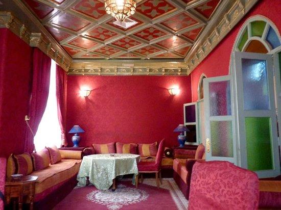 Hotel Le Riad: Comedor