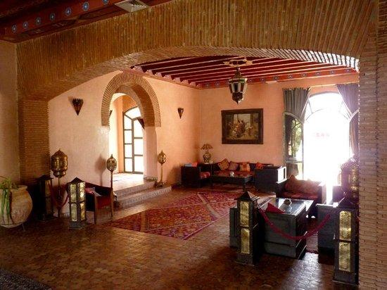 Hotel Le Riad: Salón común - hall