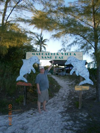 Margarita Villa: Beach entry