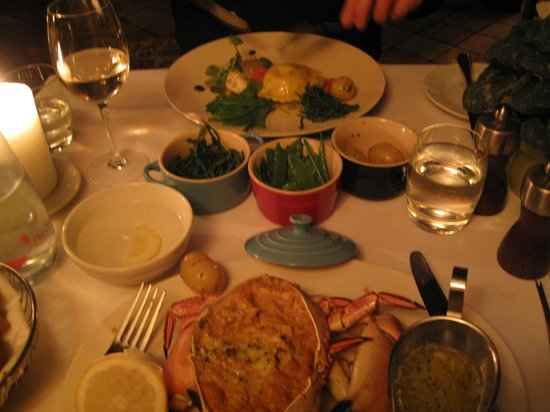 The Crab & Boar: Evening Meal