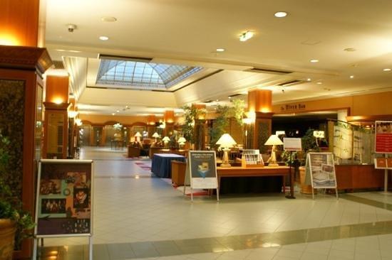 The Aquincum Hotel Budapest: 호텔 내부