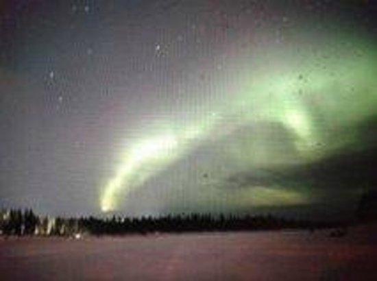 aurore boreale picture of hotelli samperin savotta savukoski tripadvisor. Black Bedroom Furniture Sets. Home Design Ideas