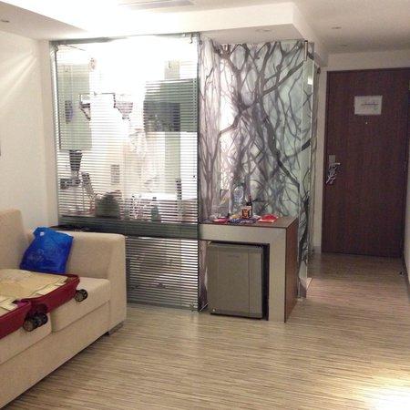 Hotel Bogota 100: Vista da estação de banho