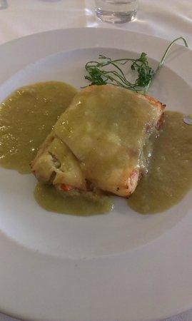 Meliá María Pita: Lasagna de Vieiras y Gambas