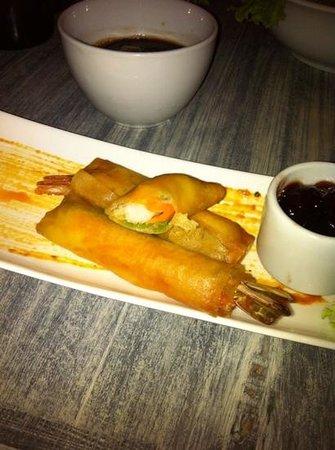 Restaurante Mok by Fuad Akel: Rollspring lagostin
