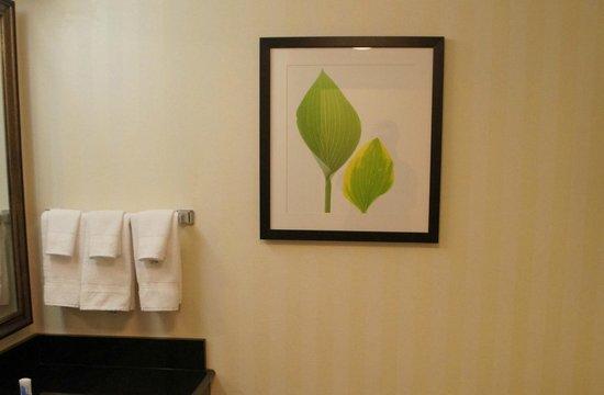 فيرفيلد إن آند سويتس ماريوت أوبورن: Bathroom