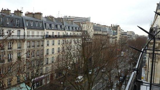 Hotel du Prince Eugene: View