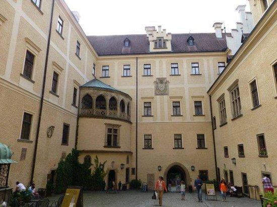 Konopiste Castle: in the main entrance