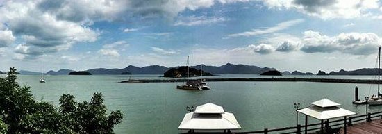 Resorts World Langkawi: Panaromic view from the room.