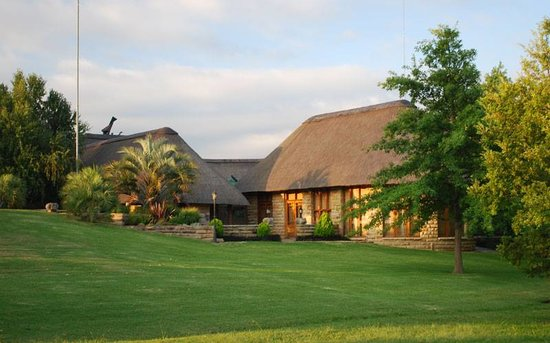 Lala Nathi Country Guesthouse : The front of the guest house