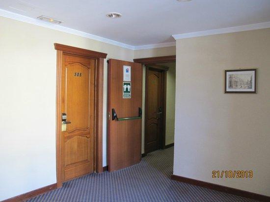 Las Vegas Hotel : Это вид коридора из лифта