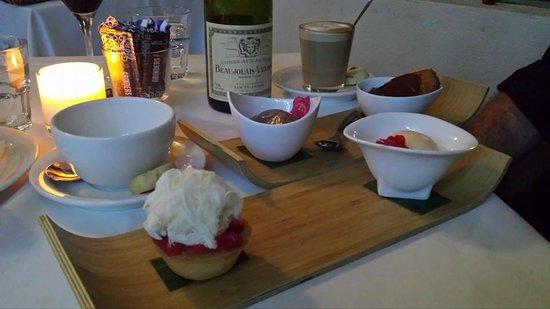 Season Restaurant: 'a little something' dessert .... YUMMO