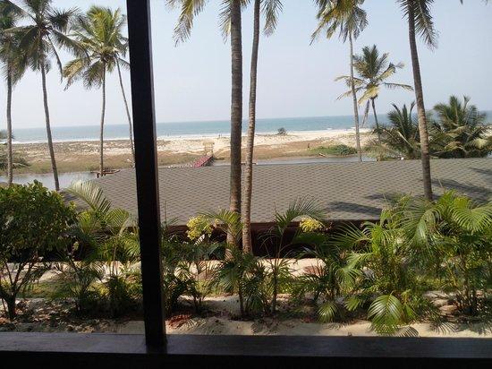 Riva Beach Resort: View from Room 204