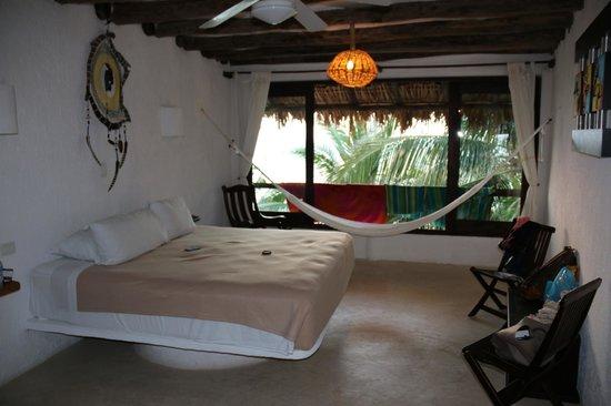 Beachfront Hotel La Palapa: Panoramablick