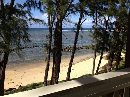 Outrigger Mauritius Beach Resort : View from our room - A little piece of paradise