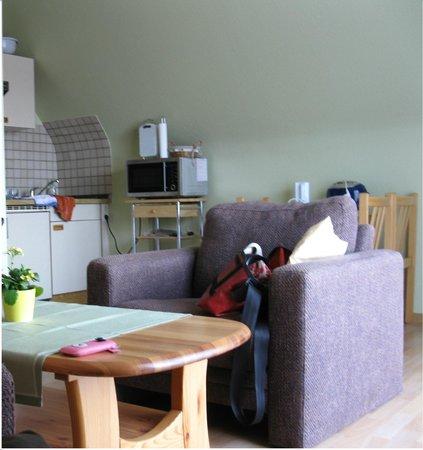 Haus Ann-Christin: Кухня-гостиная