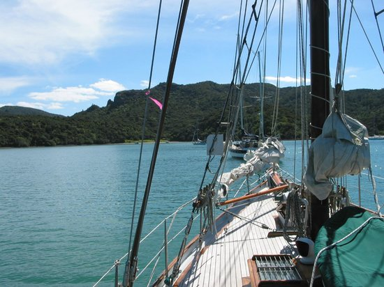 Fiddler's Green: On achorage in Horseshoe Bay
