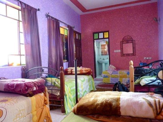 Maison D'Hote El Kasaba: Nuestra habitación para 6 personas