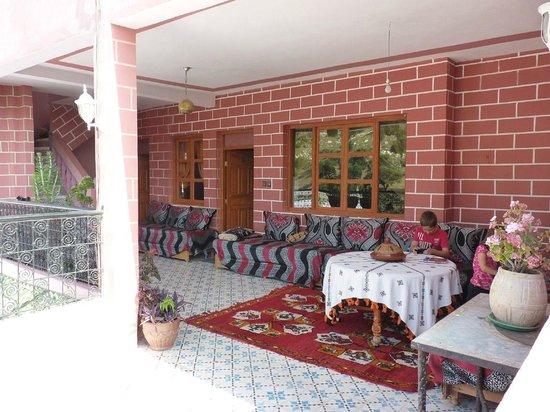 Maison D'Hote El Kasaba: Terraza