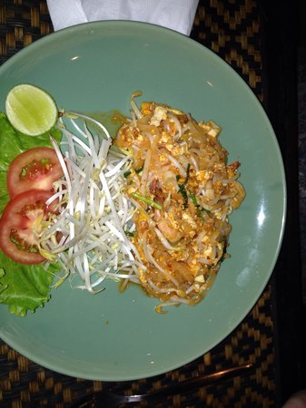 Thai Lagoon Restaurant: Pad Thai without nuts