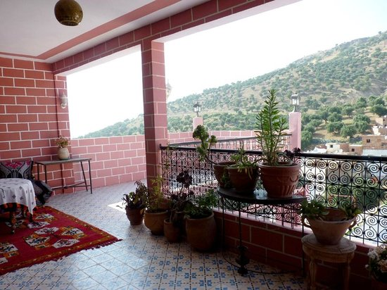 Maison D'Hote El Kasaba: Vista desde la terraza