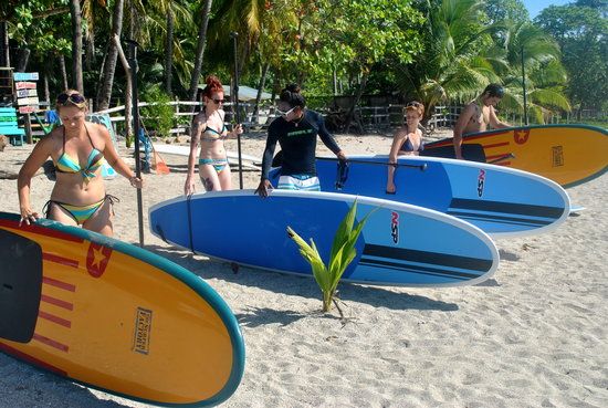 Pato's Surf School: SUP Board Tour