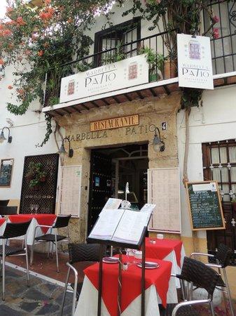 Restaurante Marbella Patio Picture Of