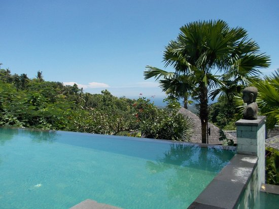 The Damai : View from pool villa