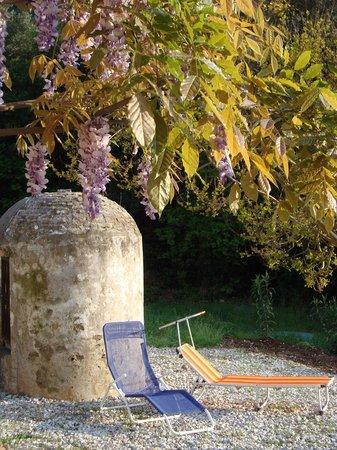La Fucinaia Bed and Breakfast : Relax im Garten