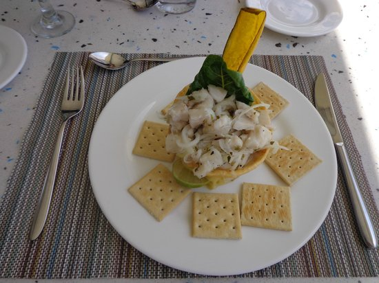 Mykonos Hotel & Convention Center: Ceviche