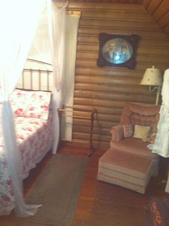 Lazy Cloud Lodge Bed and Breakfast: Log Cabin Suite