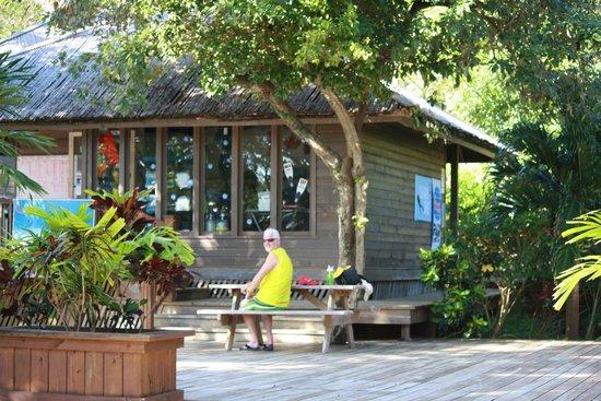 Media Luna Resort & Spa : Dive shop
