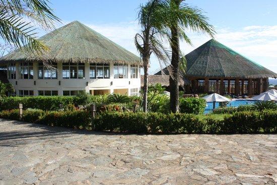 Media Luna Resort & Spa : Main reception hall and dining room