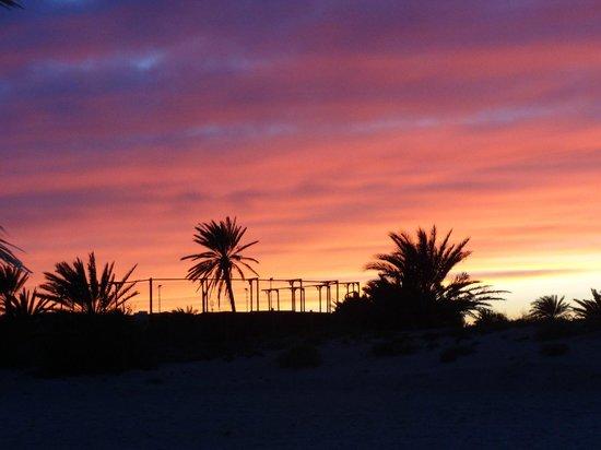 Djerba Golf Resort & Spa : le coucher de soleil de la plage