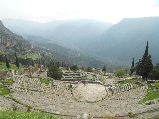Private Greece Tours : Amphithéatre admirablement préservé