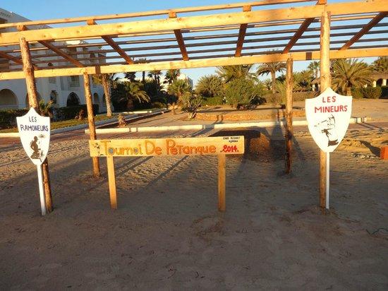 Djerba Golf Resort & Spa : la pétanque