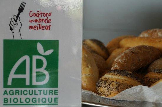 BEST WESTERN Hôtel du Casino le Phoebus : Produits issus de l'agriculture Biologique aux Petits-déjeuners