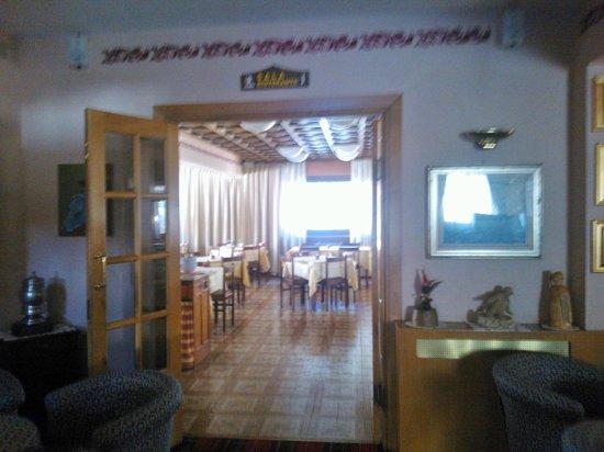 Hotel l'Arolla : Sala ristorante/colazione