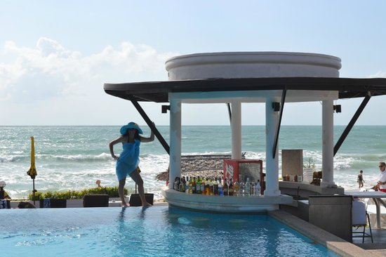 Al's Resort : бассейн у моря