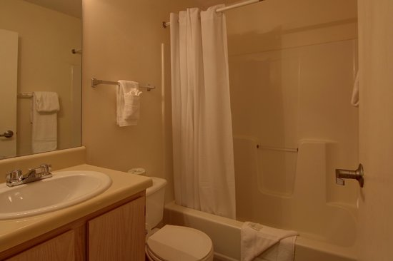 Cumming Extended Stay Hotel: Bathroom