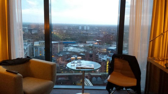 Hilton Manchester Deansgate: Executive room