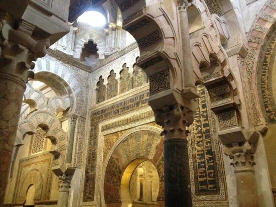 Moschee-Kathedrale (Mezquita de Córdoba): Arcos y techos