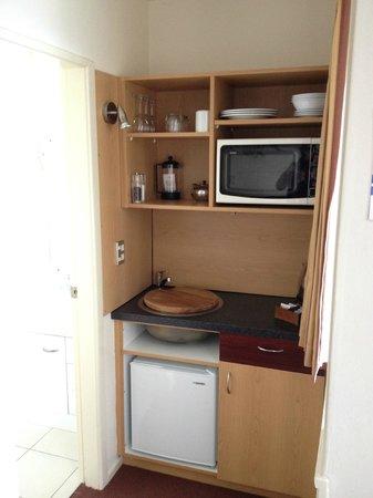 Lomond Lodge : Petit coin cuisine